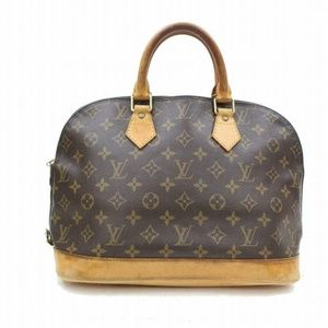 Authentic Louis Vuitton Hand Bag Alma handbag